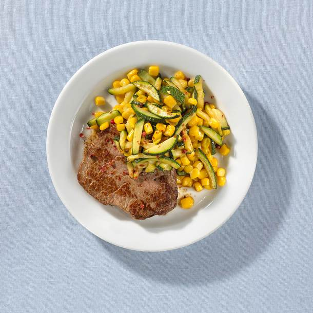 Steak mit Mais Rezept