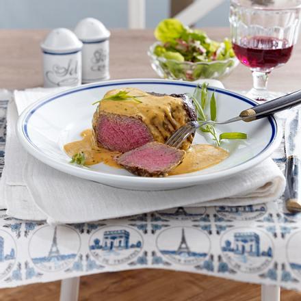 Steak mit Sauce Cafe de Paris Rezept