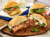 Steak-Sandwich mit Basilikum-Mayo Rezept