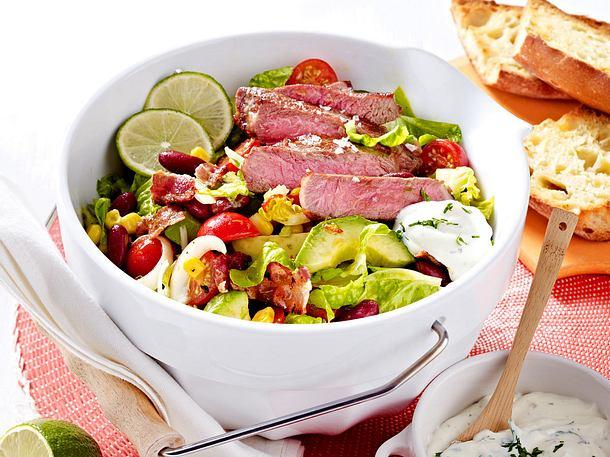 """Steaksalat """"Texas-Style"""" Rezept"""