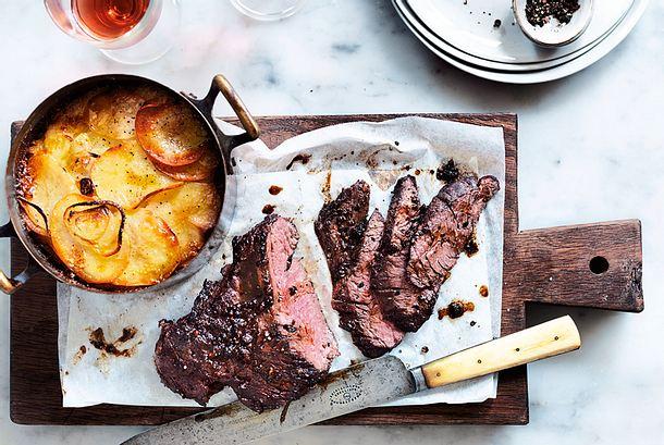 Steakstreifen Rezept