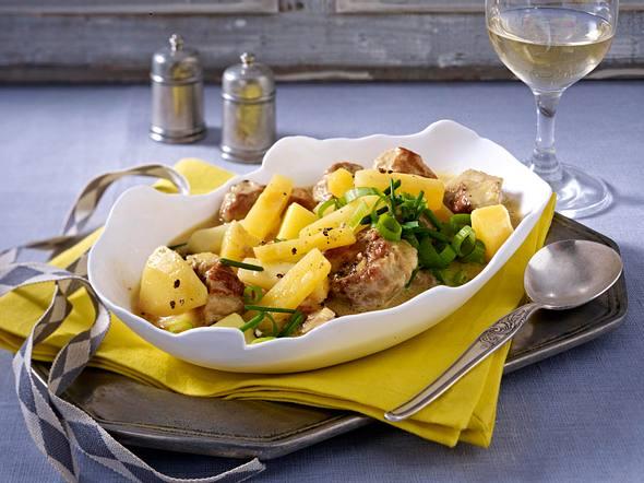 Steckrüben-Kartoffel-Gulasch Rezept