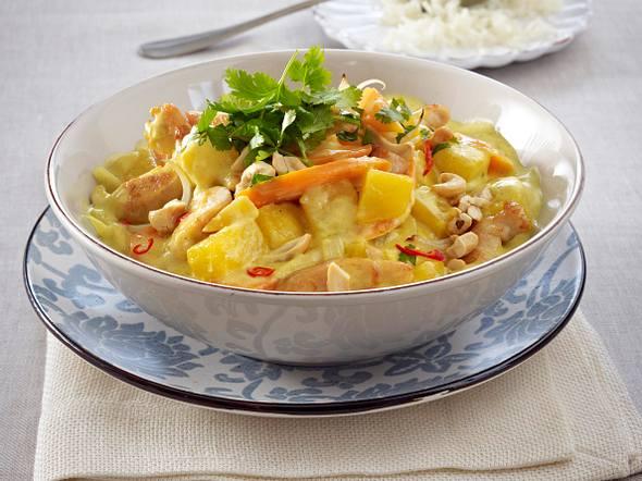 Steckrüben-Möhren-Curry Rezept