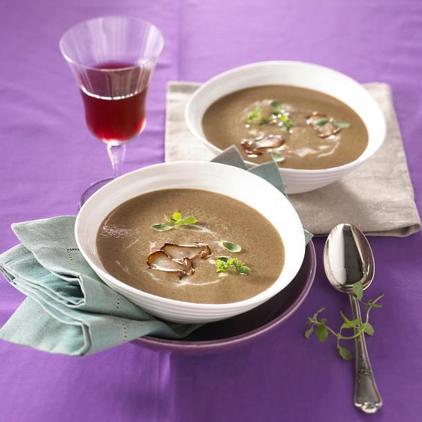 Steinpilz-Suppe Rezept