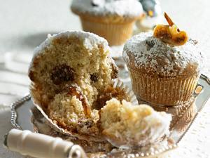 Stollen-Muffins mit Feigen & Datteln Rezept