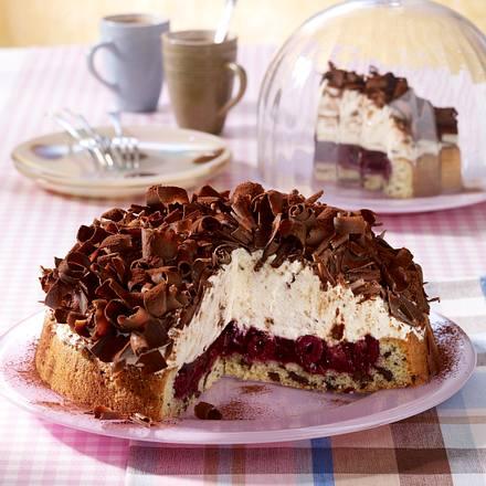 Stracciatella-Kirsch-Torte Rezept