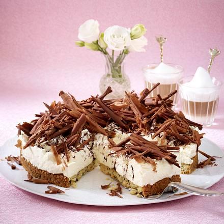 Stracciatella-Sahne-Torte Rezept
