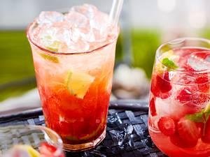 Strawberry-Caipirinha Rezept