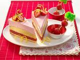 Strawberry-Sunrise-Torte Rezept