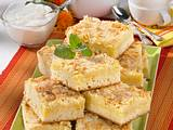 Streusel-Butterkuchen mit Mandeln Rezept