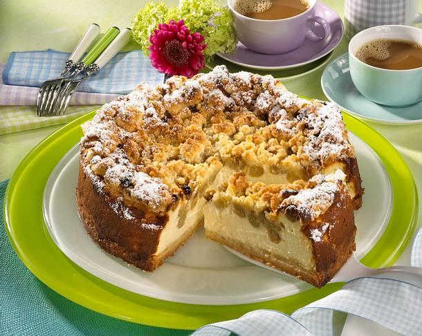 Streusel-Quarkkuchen Rezept