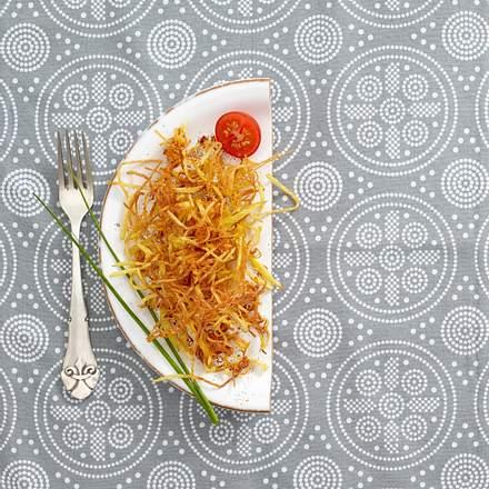 Strohkartoffeln Rezept