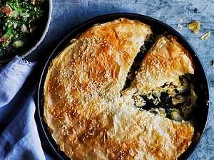 Strudel-Pie mit Curryhuhn Rezept