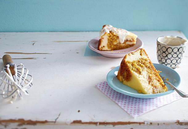 Strudeliger Möhren-Cheesecake Rezept