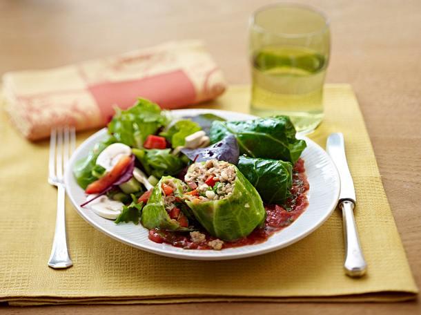 Stuffed Cabbage Rezept