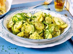 Süddeutscher Kartoffelsalat Rezept