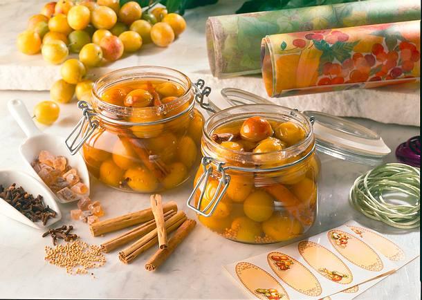 Süß-saure Mirabellen Rezept