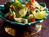 Süß-saurer Papaya-Salat mit Tamarinde (Som Tam) Rezept