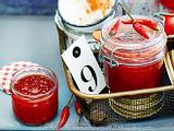 Süss-scharfe Chilikonfitüre Rezept