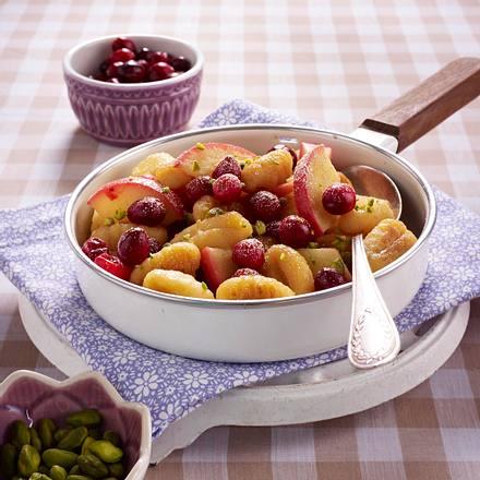 Süße Apfel-Gnocchi-Pfanne Rezept