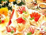 Süße Blätterteig-Pastetchen Rezept