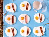 Süße Eier mit Speck Rezept