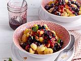 Süße Gnocchi mit Heidelbeeren Rezept