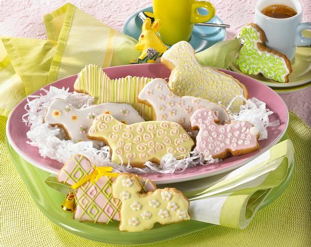 Süße Lämmchen-Kekse Rezept