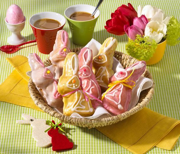 Süße Marzipan-Rührteighasen Rezept