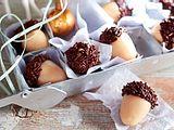Süße Marzipaneicheln Rezept