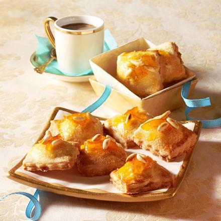 Süße Mürbeteig-Ravioli Rezept