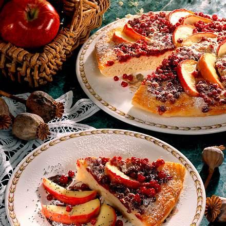 Süße Obstpizza Rezept