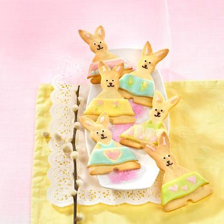 Süße Osterhasen Rezept Lecker