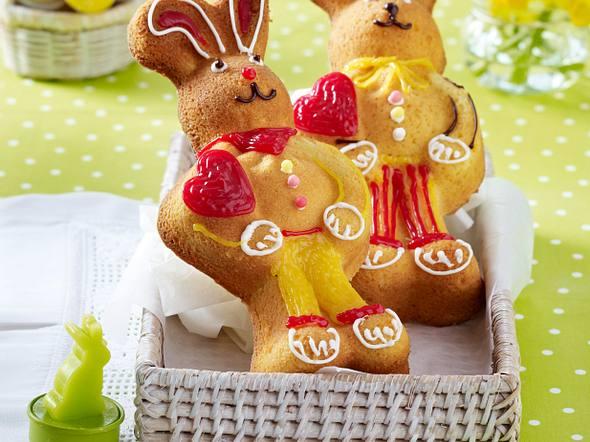 Süße Osterhasen Rezept