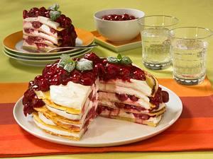Süße Pfannkuchentorte Rezept