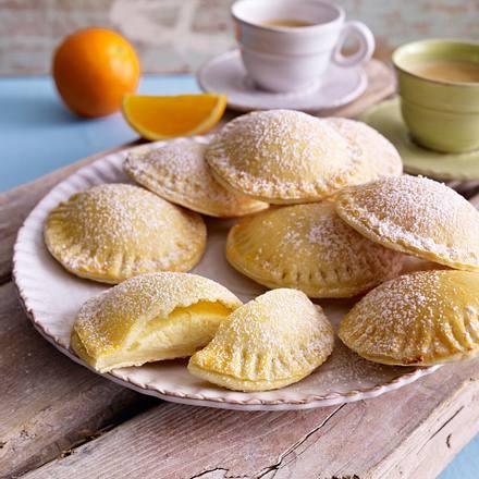 Süße Ricotta-Ravioli Rezept