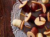 Süße Schokokuss-Eicheln Rezept