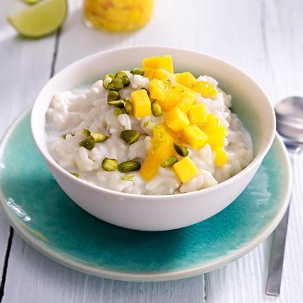 Süßer Kokosmilchreis Rezept