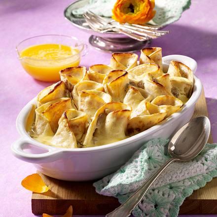 Süßer Pfannkuchen-Auflauf Rezept