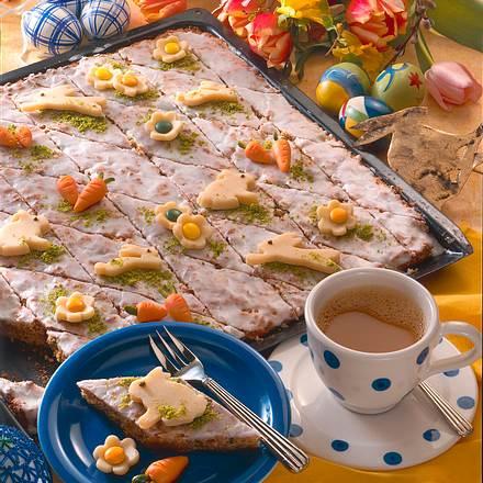 Süßer Zucchini-Möhren-Kuchen Rezept