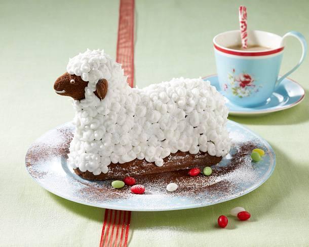 Süßes Schoko-Osterlämmchen Rezept