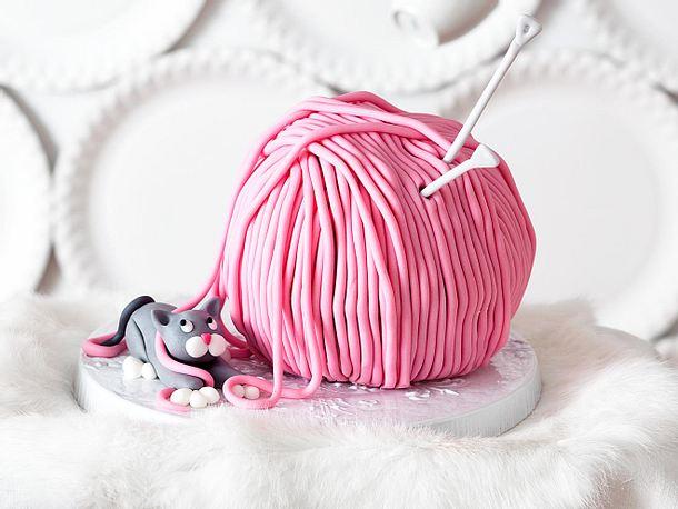 Süßes Wollknäuel mit Mieze Rezept