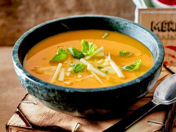 Süßkartoffel-Apfel-Suppe Rezept