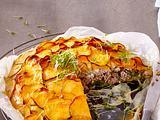 Süßkartoffel-Hack-Torte Rezept