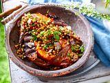 Süßkartoffel Kumpir-Style Rezept