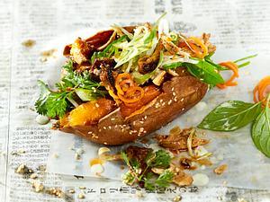 Süßkartoffel-Sandwich (Banh Mi) Rezept