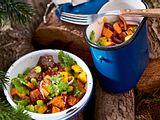 """Süßkartoffelsalat """"Draussen im Walde"""" Rezept"""