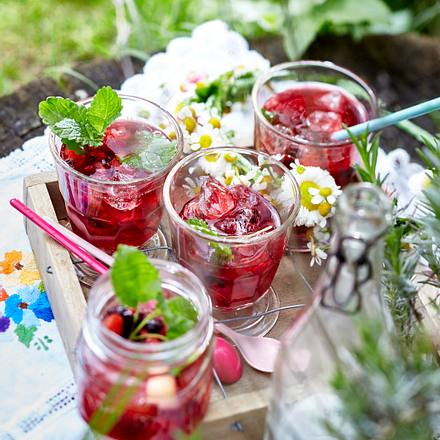 Summertime-Punch Rezept