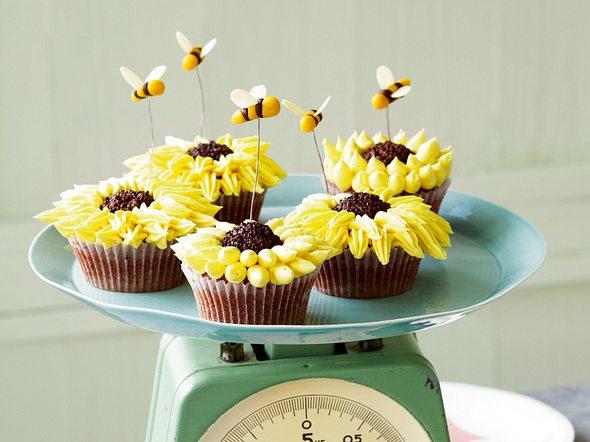 Sunflower Cupcakes Rezept