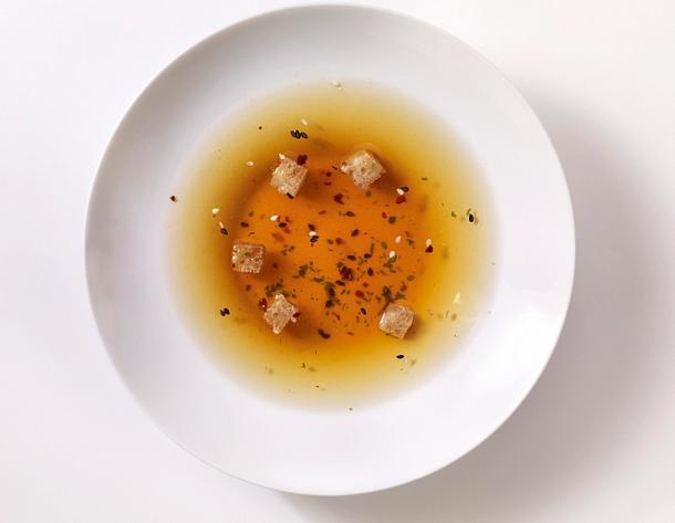Suppeneinlagen 4x anders: scharfe Croûtons Rezept